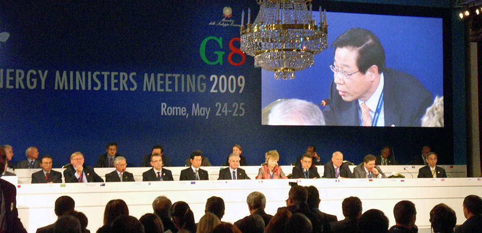 G8 Energy Ministers 2009